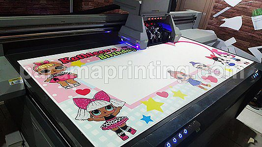Photobooth Printing Flatbed